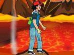Pokemon Cross The Lava