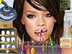 Rihanna At The Dentist